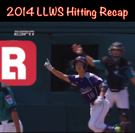 Little League World Series 2014 Hitting Recap