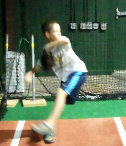 10 Year Old Demonstrating Proper Pitching Mechanics with Consistency