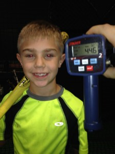 Henry H weighs 44lbs...hits is 44.6 mph.  GET SOME!