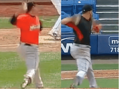 Jose Fernandez at Foot Strike