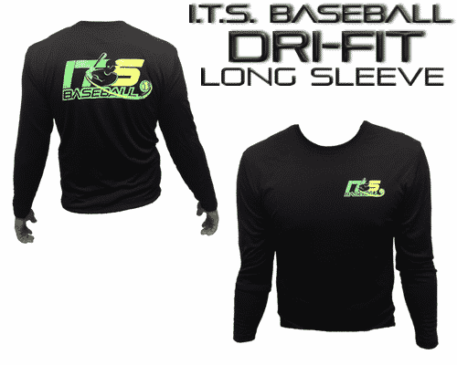 ITS Baseball Dri-fit Long Sleeve (Black)