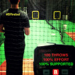 100 throws at 100% effort, pitch count