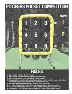 Pitchers Pocket Competition Rules