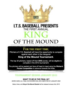 I.T.S. Baseball King of the Mound poster