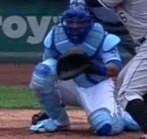 Salvador Perez Catching