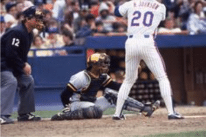 Tony Pena Catching