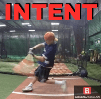 intent to swing hard picture