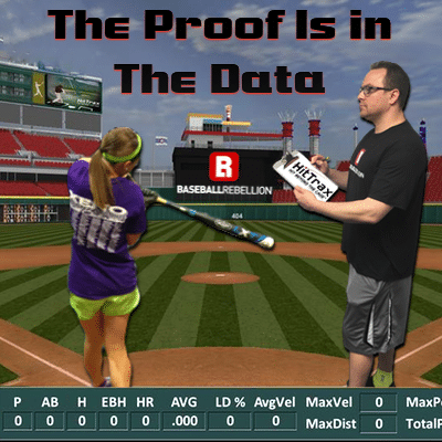 HitTrax Baseball Hitting Data Baseball Rebellion