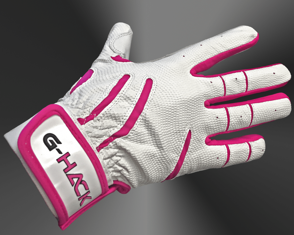 G Hack Batting Glove Pink