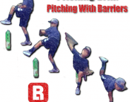 Pitching Drill - Pitching With Barriers