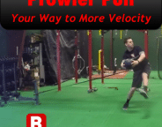 Increase Throwing Velocity with the Prowler Pull