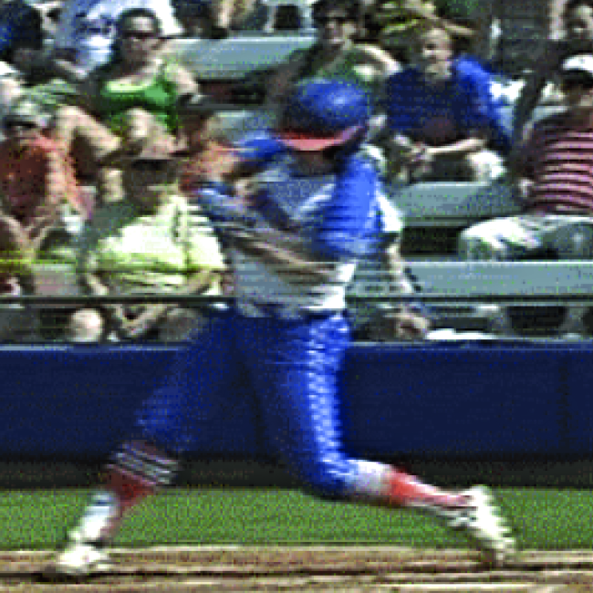 is the softball swing different from the baseball swing