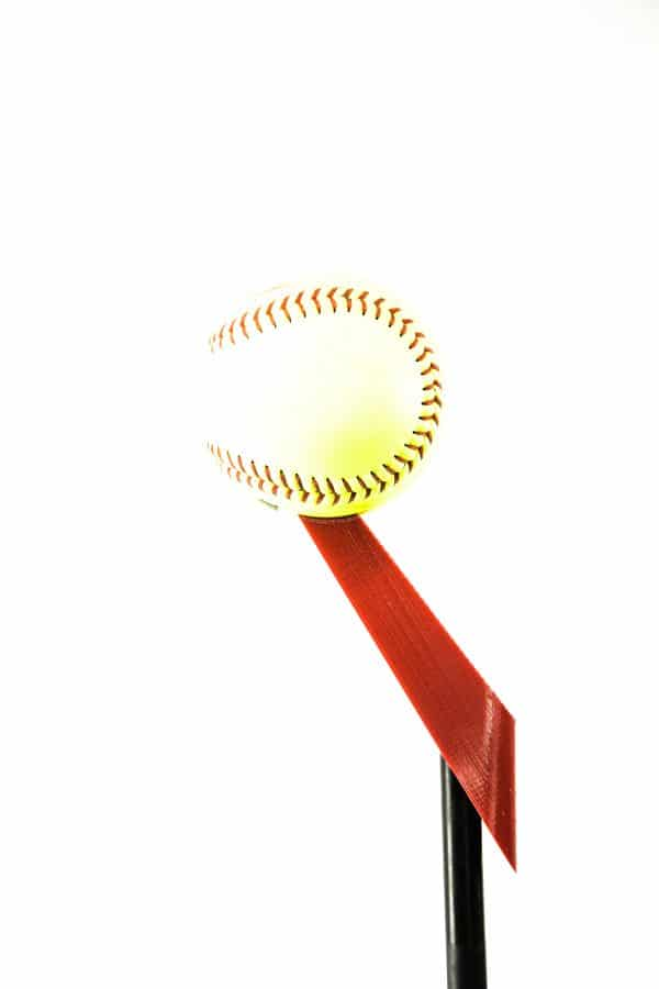 Adapter Top with Softball