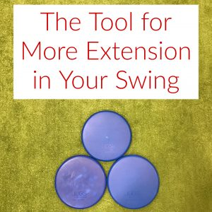 the tool for more extension in your swing