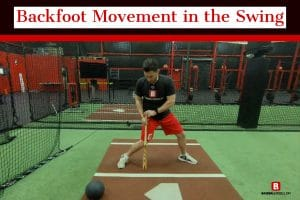 Backfoot Movement in the Swing