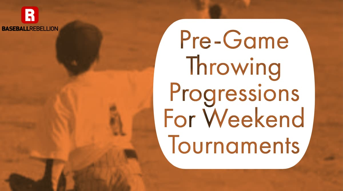 Pre-game throwing progressions