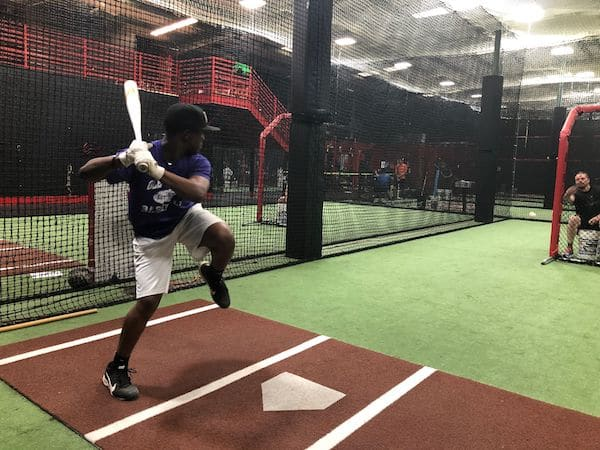 High School Sophomore Working on His Stride at BRHQ