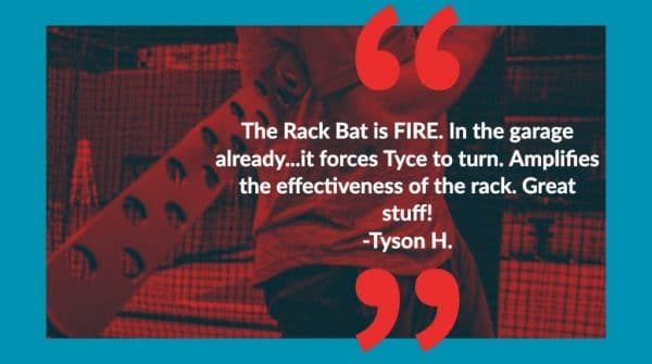 Rack Bat is Fire