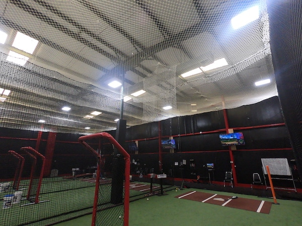 Net at Top of Cage