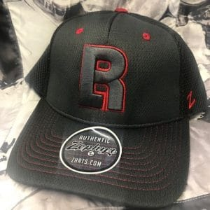 Gray-Red-BR-Hat