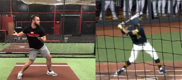 Example of how similar the BR Progression is to live swings.