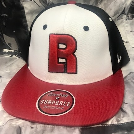 Red, White, and Black BR Hat