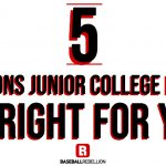 5 Reason to Play in Junior College (1)