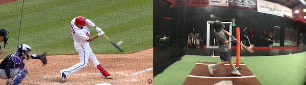 Front Arm Angle Difference at Contact