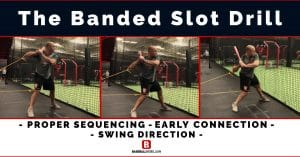 Banded Knee Hitting Drill