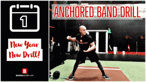 Anchored Band Drill for More Force