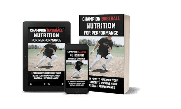 Champion Baseball Nutrition for Performance eBook iPad, iPhone copy