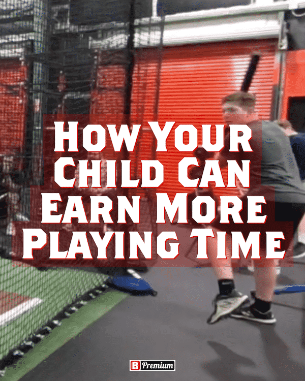 Earn More Playing Time