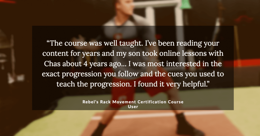 Rebel's Rack Certification Course Quote