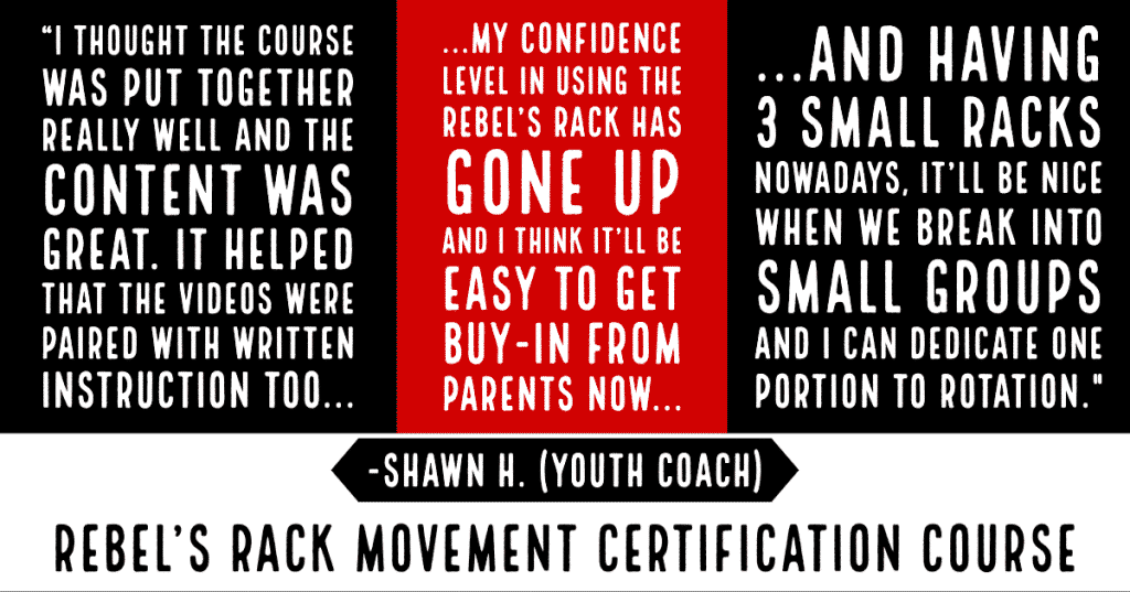 Shawn H. Rebel's Rack Certification Course