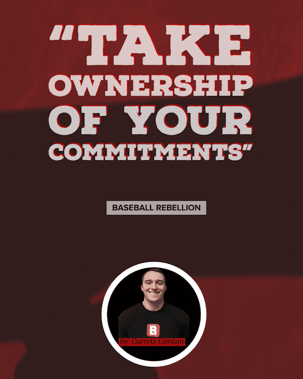 Take Ownership of Your Commitments