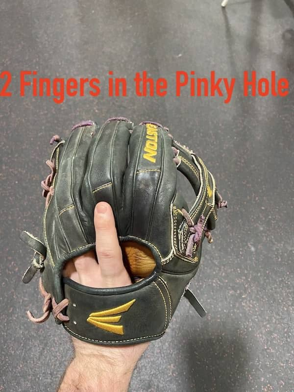 Break in Your Glove Two Pinky