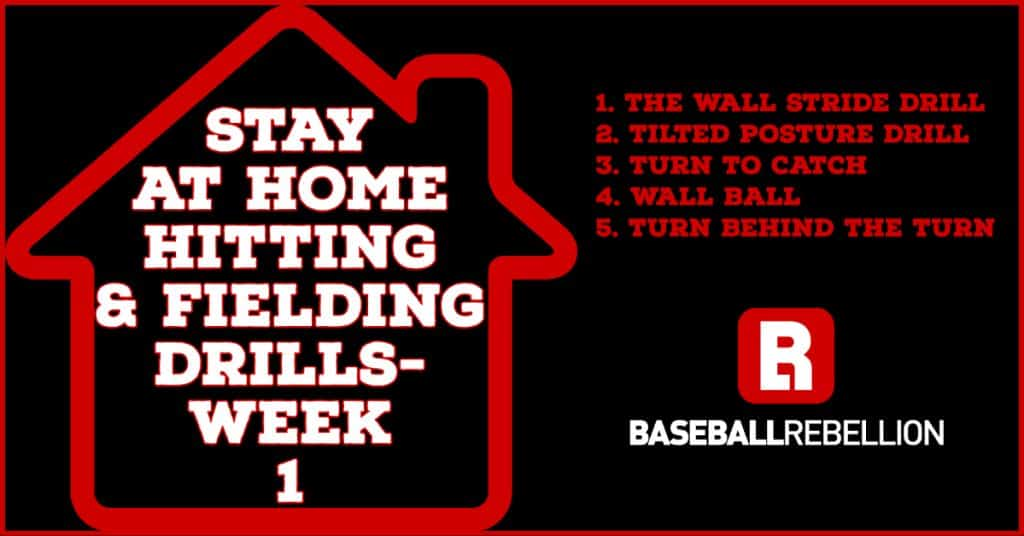 Stay at Home Hitting & Fielding Drills- Week 1