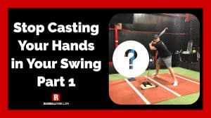 Stop Casting Your Hands In Your Swing
