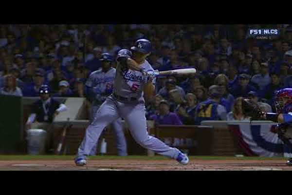 Corey Seager Front Foot Open