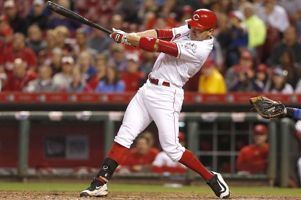Joey Votto Front Foot Open