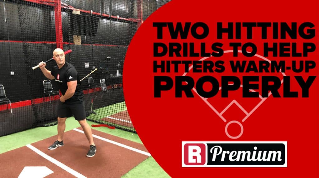 Hitting drills to warm-up properly