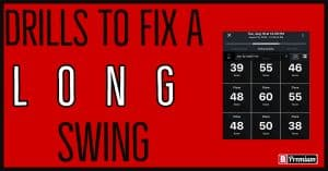 How to Fix a long swing