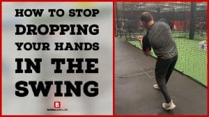 How to Stop Dropping Your Hands in the Swing