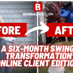 six month swing transformation