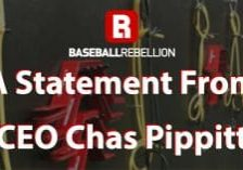 A Statement from CEO Chas Pippitt