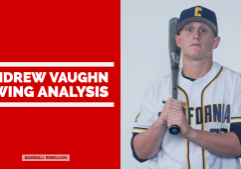 Andrew Vaughn Swing Analysis