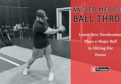 Angled Medicine Ball Throw