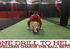 Charge Groundballs and Improve Footwork