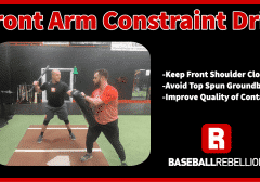 Front Arm Constraint Drill
