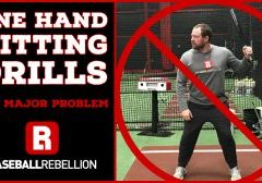 One Hand Hitting Drills